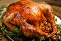 Turkey dinners have a long history in Belize as the ancient Maya hunted and then domesticated wild turkeys.